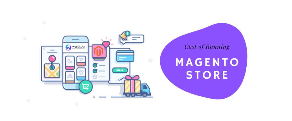 cost of running a magento store