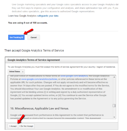 Magento 2 Google Analytics - code