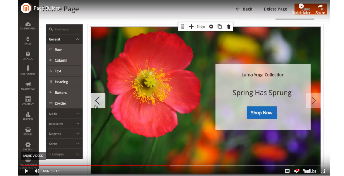YouTube video integrations