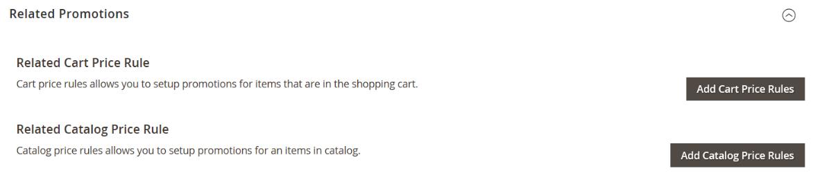 price settings