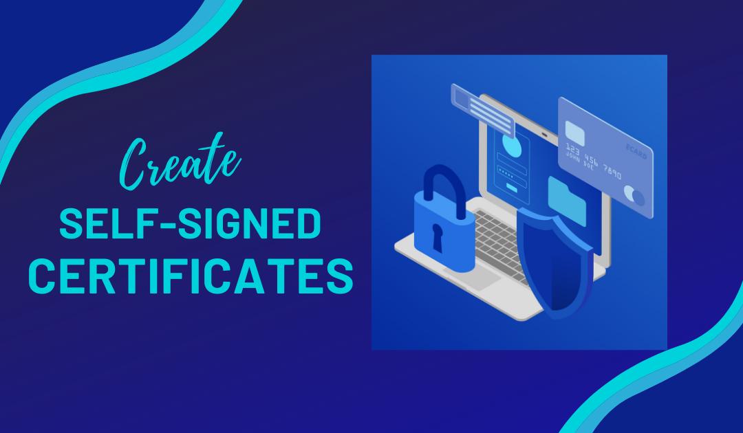 Create Self Signed Certificate: Ubuntu, Windows, Nginx