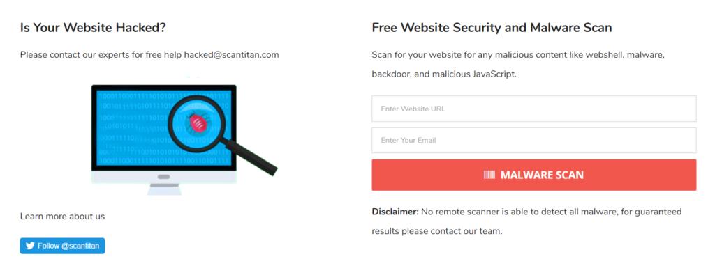 Online Malware Scanner